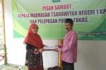 MTsN 1 Kulon Progo Laksanakan Pisah Sambut Kepala dan Pelepasan Guru Purna Tugas