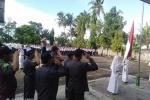 Jadi Pembina Upacara di MTsN 1 Kulon Progo, Kapolsek Wates Ingatkan Klitih