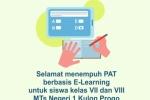 MTs Negeri 1 Kulon Progo Laksanaka PAT Berbasis E-Learning